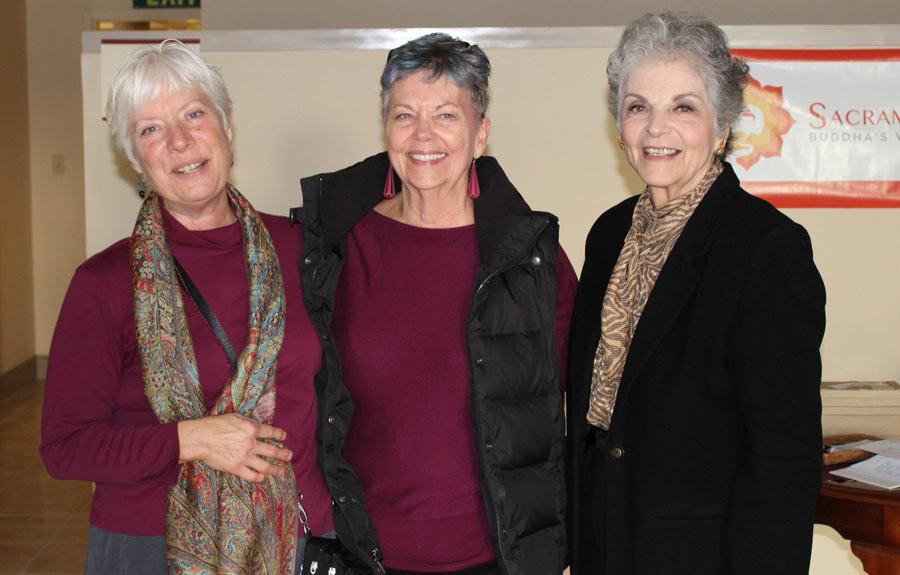 Friends at Sacramento Dharma Center