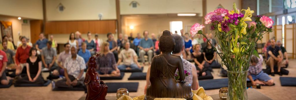 New Meditation Hall at Sacramento Dharma Center